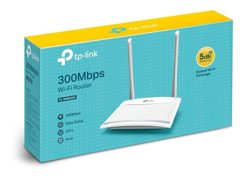 Router Inalámbrico N 300mbps Tl-wr820n