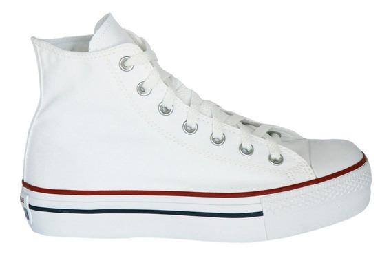 Tênis Converse Chuck Taylor All Star Platform Hi Branco