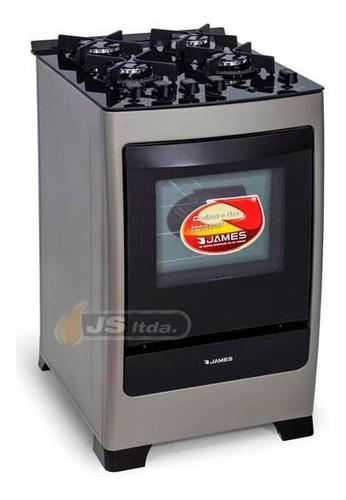Cocina A Gas James C700 V Titanium Vidrio Templado Envios