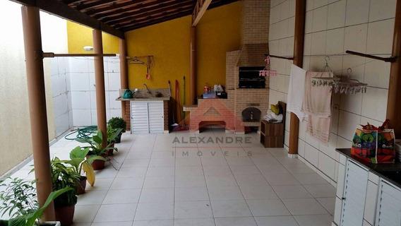 Casa Residencial À Venda, Jardim Valparaíba, São José Dos Campos - Ca3756. - Ca3756