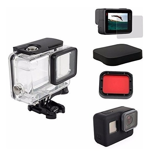 Kit Complementares Para Gopro Hero 5 Black Go Pro 6 7 Black
