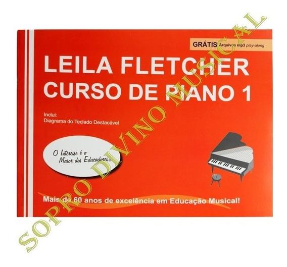 Método Leila Fletcher Curso De Piano Course 1 C/ Mp3 Audios