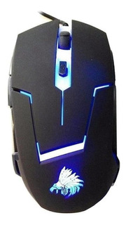 Mouse de juego Eagle Warrior G13 negro