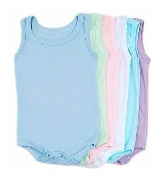 9 Bodys Baby Regata Cores Sortidas Confortável