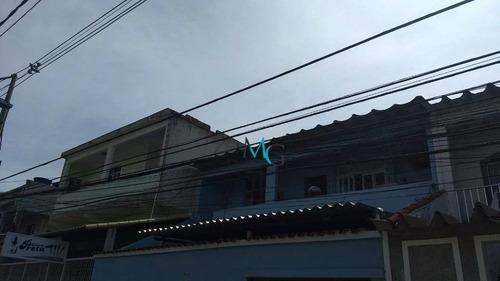 Imagem 1 de 12 de Sobrado Com 2 Dormitórios Para Alugar, 69 M² Por R$ 650,00/mês - Campo Grande - Rio De Janeiro/rj - So0006