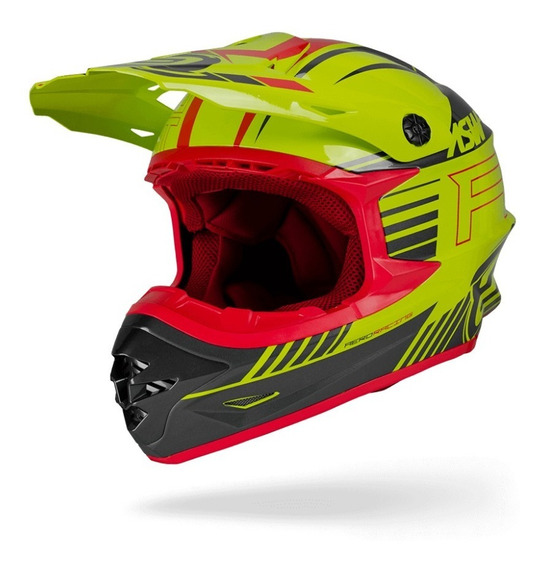Capacete Cross Asw Hyperspace Race 18 Menta Motocross