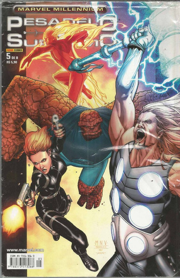 Marvel Millennium Pesadelo Supremo 05 - Bonellihq 5 Cx28 C19