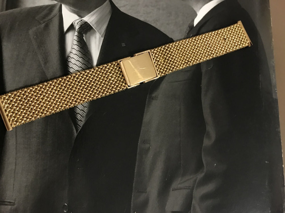 Pulseira Para Relógio, Ouro 18k-750, Peso: 47,3g, 15cm