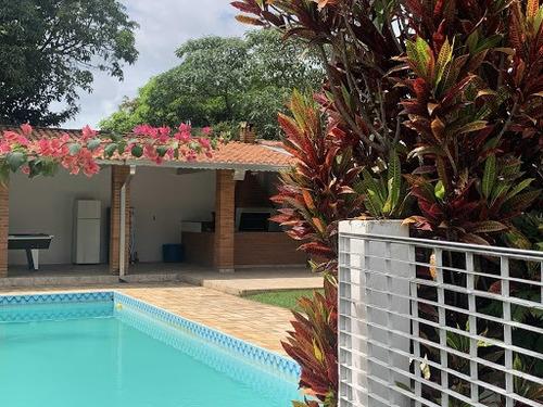 Chácara Com 3 Dormitórios Para Alugar, 1665 M² Por R$ 6.600,00/mês - Monterrey - Louveira/sp - Ch0060