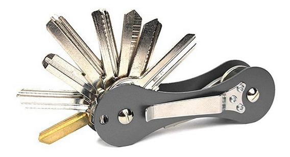 Organizador De Llaves Smart Key Tipo Navaja Elegante