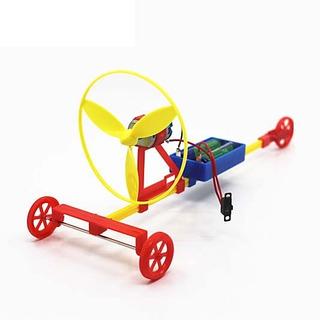Experimento Fisica Ley Newton Accion Reaccion Movil Auto