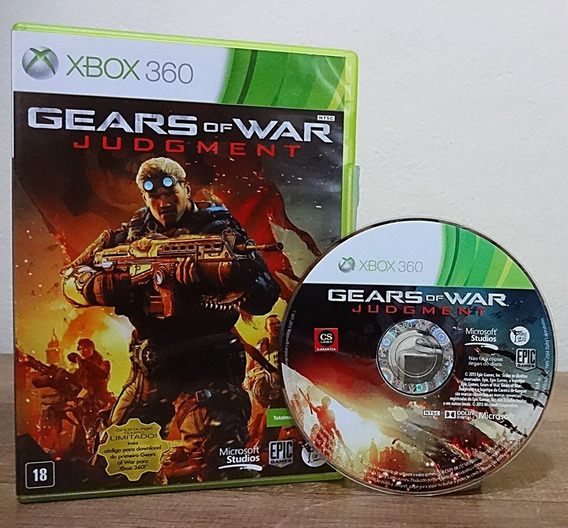 Gears Of War Judgment Xbox 360 Mídia Física Cd