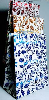 Bolsas De Regalo Navideñas 11 X 14.5 Cm. Nuevas