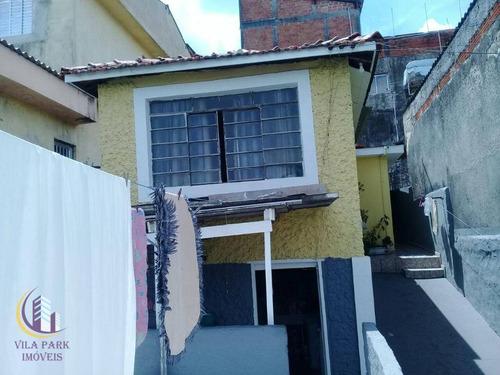 Casa À Venda Em Osasco -jd. São Vitor - Ca0425