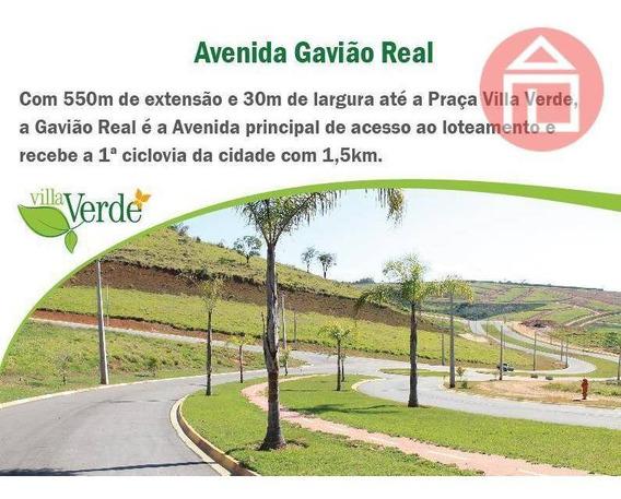 Terreno Comercial À Venda, Residencial Villa Verde, Bragança Paulista - Te0528. - Te0528