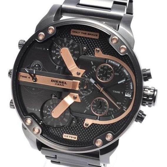 Reloj Diesel Mr. Daddy 2.0 Negro Dz7312 Disponible+ Envio