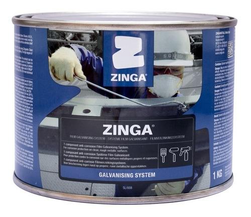 Fondo De Galvanizado En Frío Zinga. 1 Kg - Zinc Rich