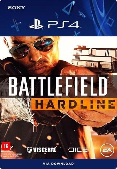 Battlefield Hardline Ps4 Português /digital /original1