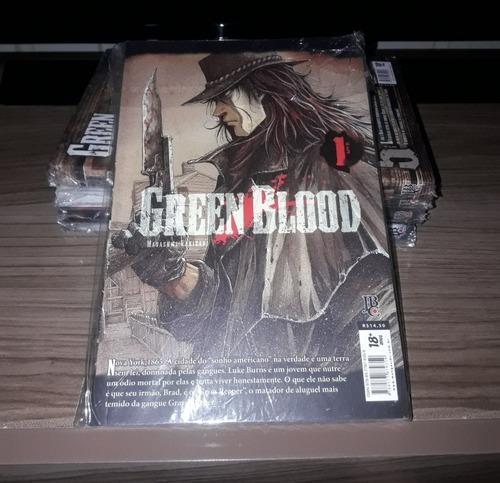 Mangá Green Blood Vol. 1 Ao 5 Coleção Completa