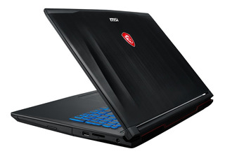 Notebook Gamer Msi Gf62 I7 8va Gen Hexa Core 16gb Ram Ssd 256gb+ Hdd 1tb Nvidia Gtx1060 6gb 15,6 Ips 120hz Teclado Rgb