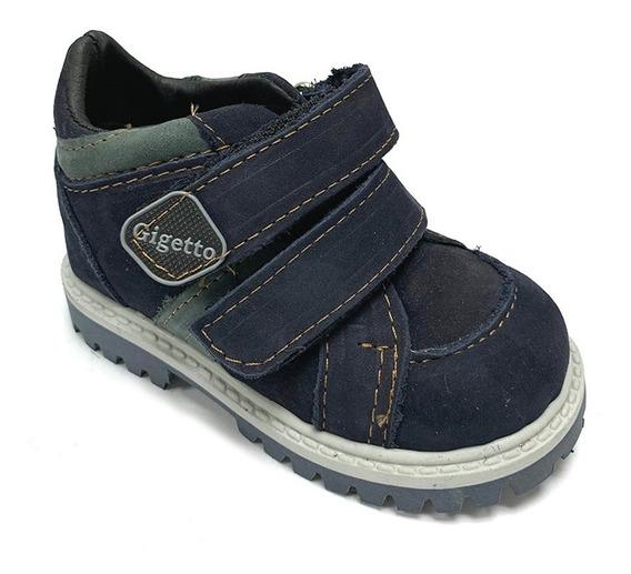 Zapatos Casuales Gigetto Niño Marrón Gi 8005 Corpez 42