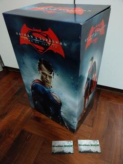 Batman V Superman Figura Blu Ray Pelicula Dvd Stock Nuevo
