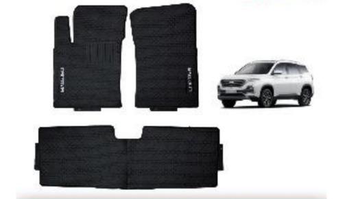 Moquetas Caucho Negro Chevrolet Captiva 2019 1ra+2da Fila