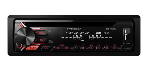 Estéreo para auto Pioneer DEH X1950UB negro