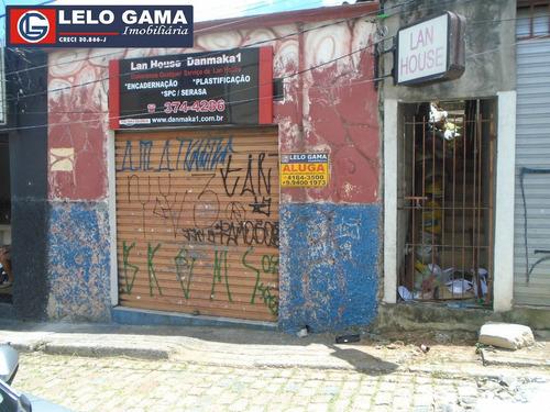 Aluga - Salão - Centro - As346