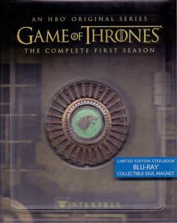 Game Of Thrones Juego Tronos Temporada 1 Steelbook Blu-ray