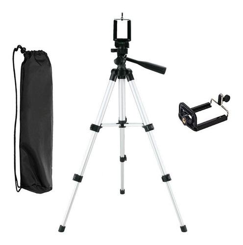 Tripode Profesional Foto Video Adaptadores Celular Gopro Ax®