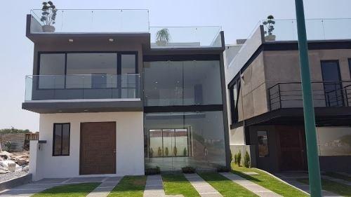 Hermosa Casa Con Roof Garden En Venta Ubicada En Real Del Bosque !!