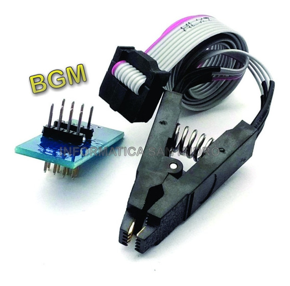 Pinza Soic-8 Marca Bgm - Made In Taiwan - Para Programador Ch341a