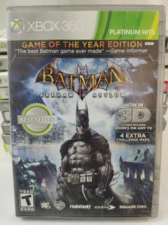 Batman Arkham Asylum Xbox 360 Seminuevo