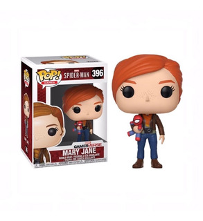 Funko Pop Spider-man S1-mary Jane W/plush #396