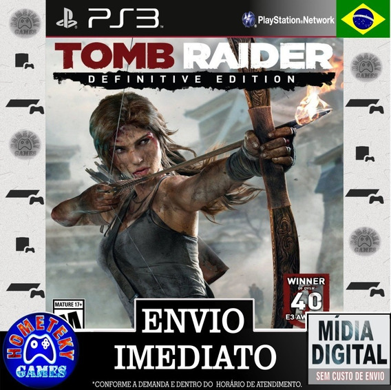 Tomb Raider Edition - Psn Ps3 - Leg. Português Br