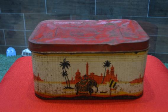 Baul Vintage Lamina Retro India Nueva Delhi Antiguo