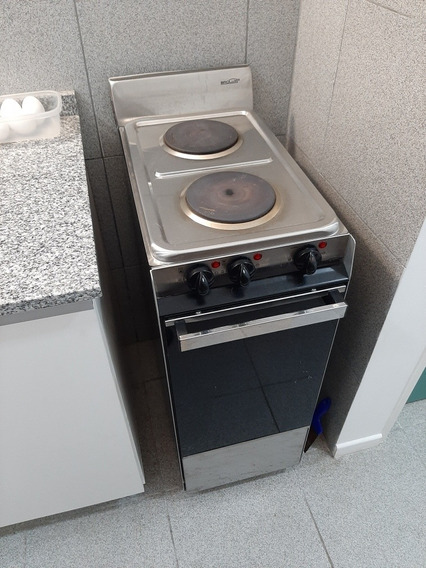 Cocina Eléctrica Dos Hornallas