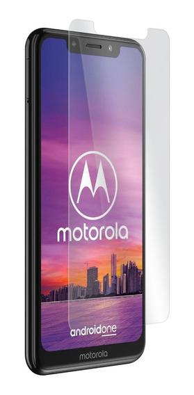 Cristal Templado Vidrio Motorola Moto One Dureza 9h Garantía