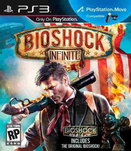 Jogo Novo Bioshock Infinite + Bonus Bioshock 1 Playstation 3