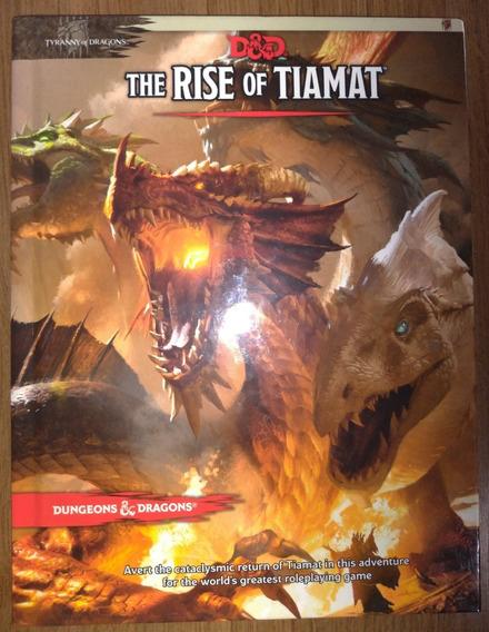 The Rise Of Tiamat - Livro De Campanha - D&d 5e