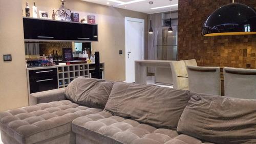 Apartamento Com 1 Dormitório À Venda, 72 M² Por R$ 380.000,00 - Jardim Tupanci - Barueri/sp - Ap0203