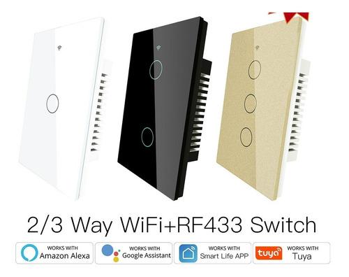 Interruptor De Pared Tuya Smart Wifi Simple 1ch Alexa Google