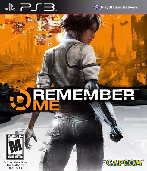 Jogo Remember Me Playstation 3 Ps3 Mídia Física Original