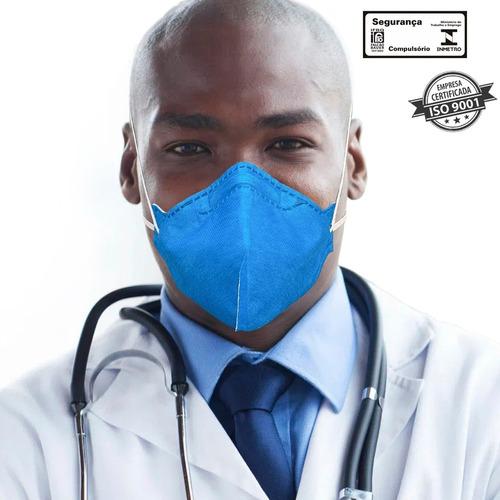 20 Máscaras N95 Hospitalar 4 Camadas Reutilizável Regulável