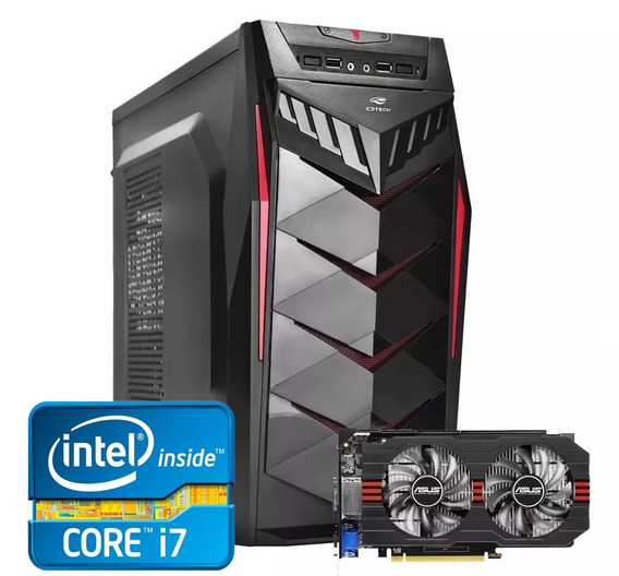 Pc Gamer Core I7 + Gtx 750ti 2gb + 8gb Memória + Ssd 240gb