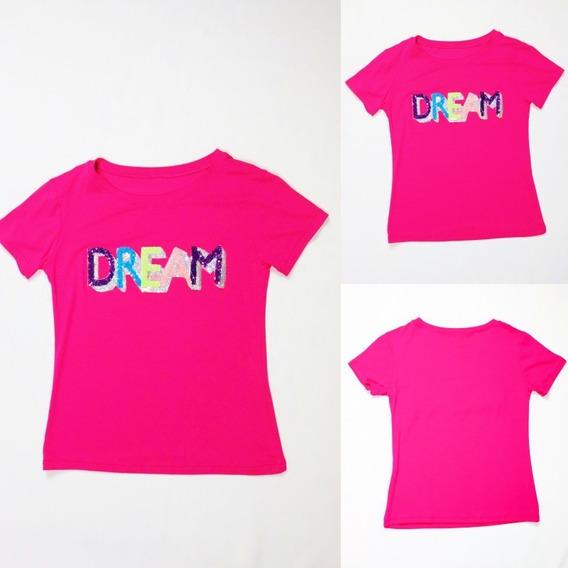 T-shirt Blusa Feminina Dream Promoção Manga Curta Blogueiras