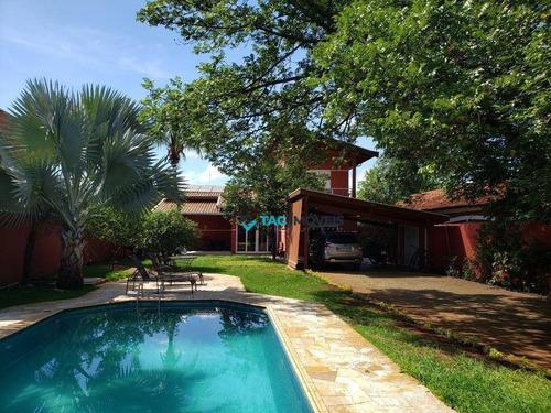 Chácara Com 3 Dormitórios À Venda, 900 M² Por R$ 1.550.000,00 - Morumbi - Paulínia/sp - Ch0033