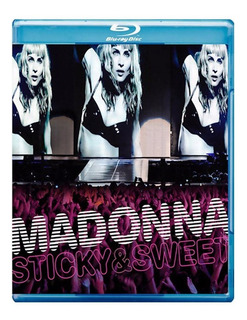 Blu Ray Madonna Sticky& Sweet Tour + Cd