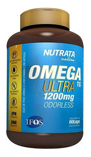 Ômega Ultra Tg - 60 Cápsulas - Nutrata